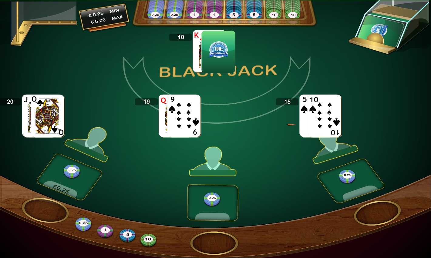 Blackjack Americana 7 Wonderland